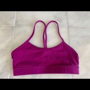 Purple Lulu Lemon Flow Y Sports Bra Size 6